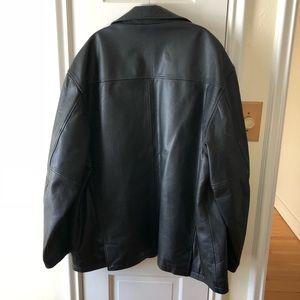 Kenneth Cole Jackets & Coats - Kenneth Cole Leather Jacket